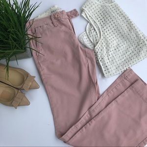 Anthropologie Paperboy Light Pink Pants